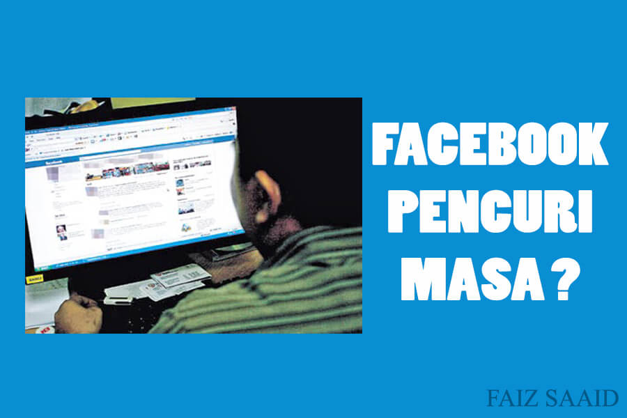 buang masa main facebook