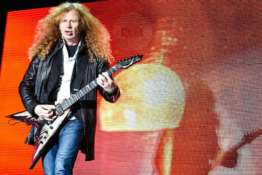 DAVE MUSTAINE Master of Riff